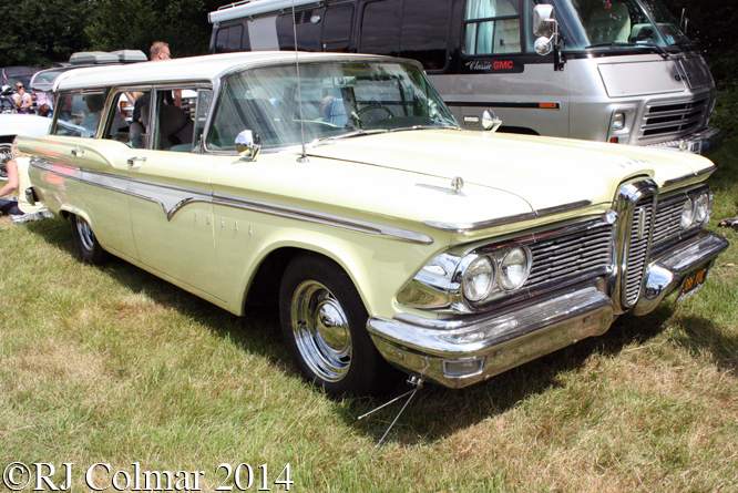Ford Edsel Station Wagon, Bristol American Car Show, Yate Town FC