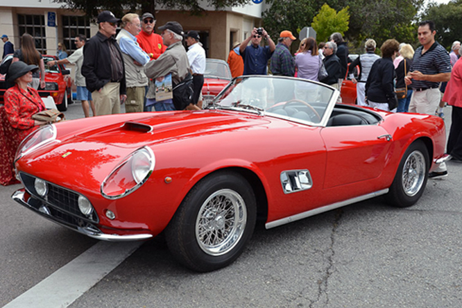 Ferrari 250 GT SWB California Spyder, Concours on the Avenue, Carmel by the Sea