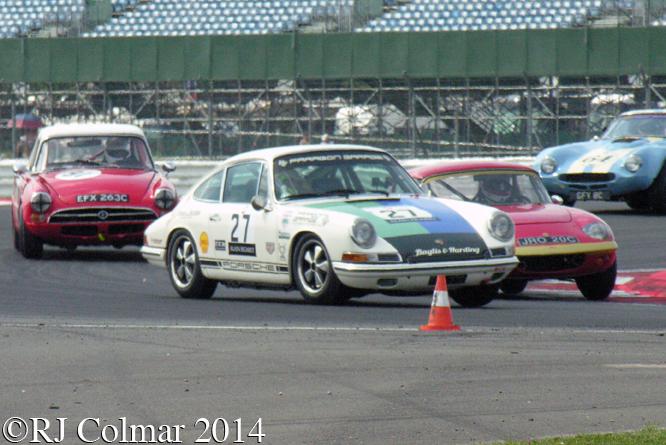 Porsche 911, Slater, Silverstone Classic