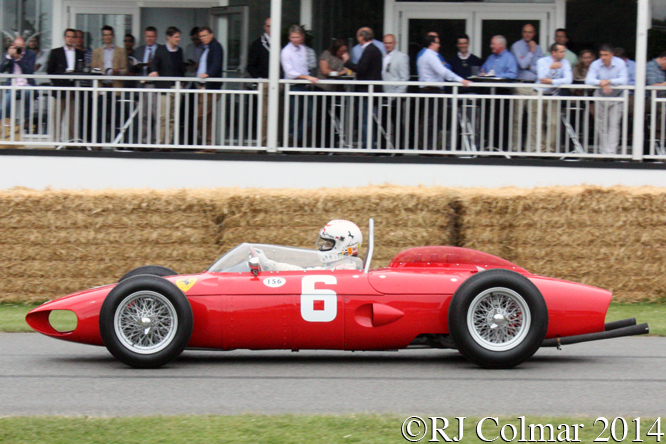Ferrari 156R, Merzario, Goodwood Festival of Speed