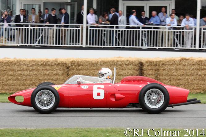 Ferrari 156R, Merzario, Goodwood Festival of Speed