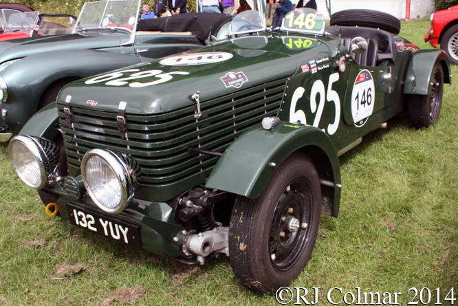 Healey Duncan Drone, Classic & Retro Action Day, Castle Combe