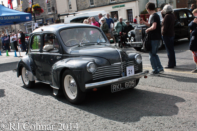 Renault 4cv, Classic Run, Chipping Sodbury