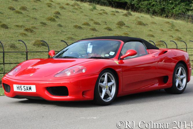Ferrari 360, Classics at the Castle, Sherborne