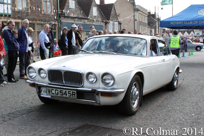 Daimler Sovereign 4.2, Classic Run, Chipping Sodbury