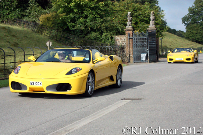 Ferrari F430, Classics at the Castle, Sherborne