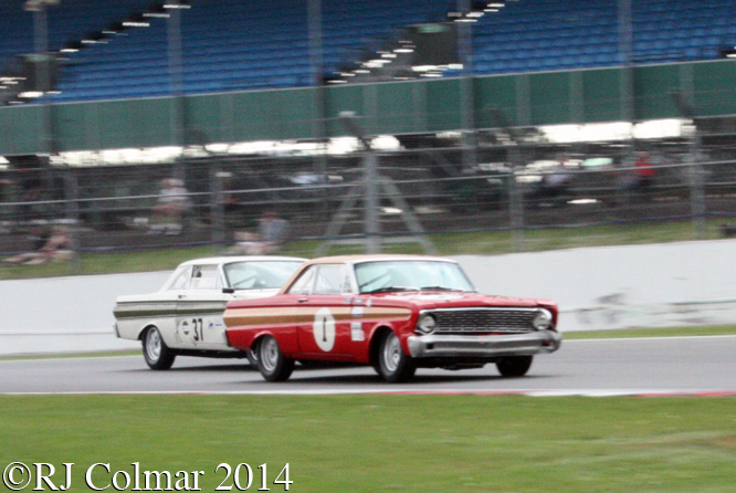 Ford Falcons, Voyazides, Gardiner, Silverstone Classic