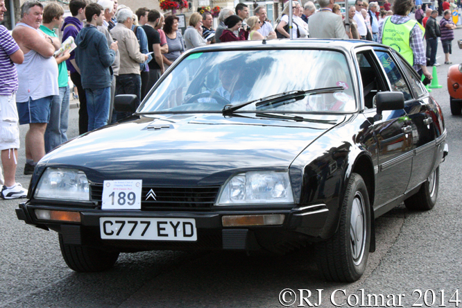 Citroën CX Gti Turbo, Classic Run, Chipping Sodbury