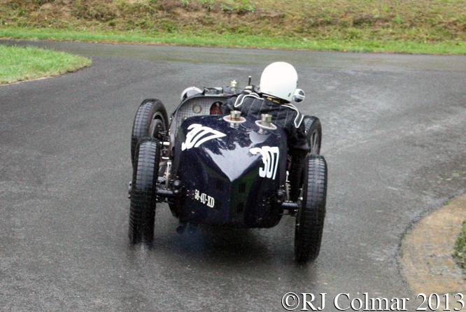 Bugatti T51A R, Howard-Orchard, VSCC Prescott