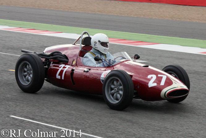 Cooper Maserati T51, Wilson, Silverstone Classic