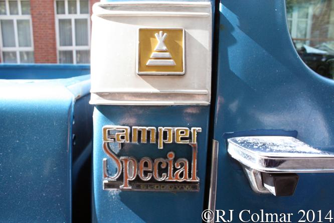 Chevrolet Custom Deluxe 20 Camper Special, Avenue Drivers Club, Queen Square, Bristol