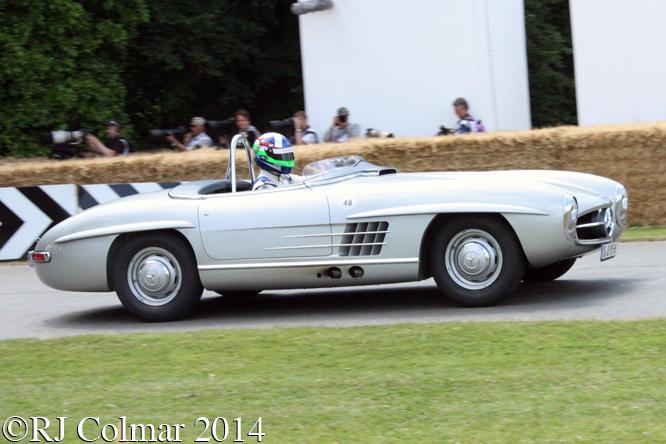 Mercedes Benz 300SLS, Franchitti, Goodwood Festival of Speed