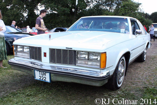 Oldsmobile Cutlass Coupé, Bristol American Car Show, Yate FC