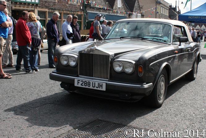 Rolls Royce Corniche Silver Spirit II, Classic Run, Chipping Sodbury