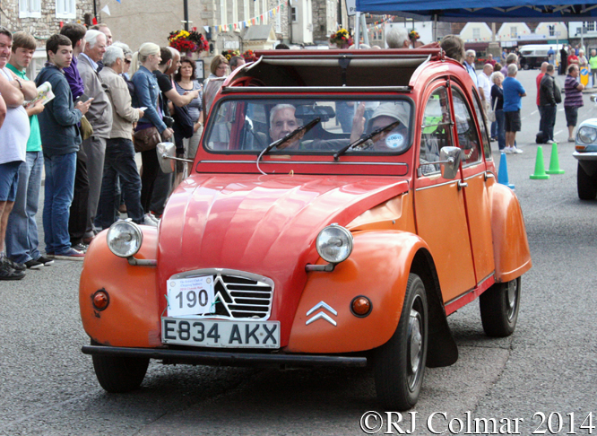 Citroën 2CV6, Classic Run, Chipping Sodbury