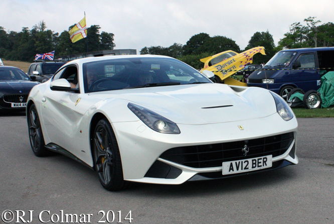 Ferrari F12berlinetta, Classics at the Castle, Sherborne