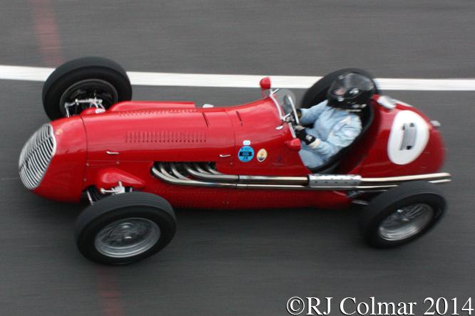 Maserati A6GCM, de Baldanza, Silverstone Classic