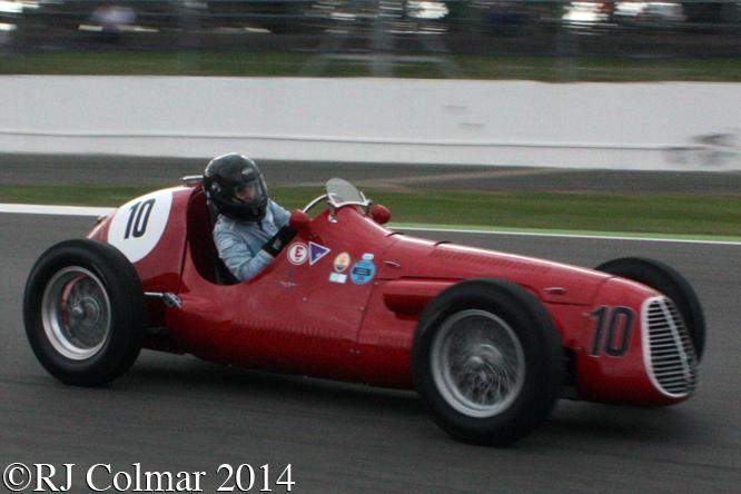 Maserati A6CGM, de Baldanza, Silverstone Classic