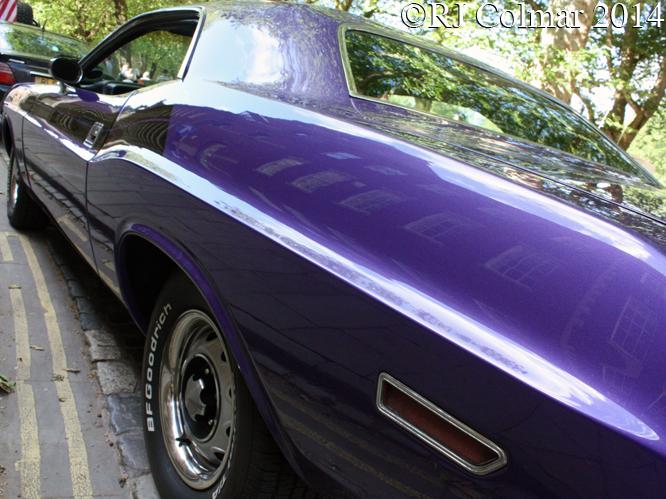 Dodge Challenger, Avenue Driver Club, Queen Square, Bristol