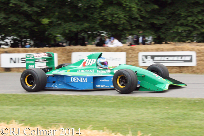 Jordan Ford 191, Sirgue, Goodwood Festival of Speed