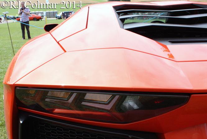 Lamborghini Aventador, Classics at the Castle, Sherborne