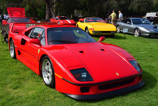 Ferrari F40, San Marino Motor Classic