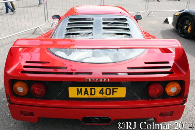 Ferrari F40, Classics at the Castle, Sherborne
