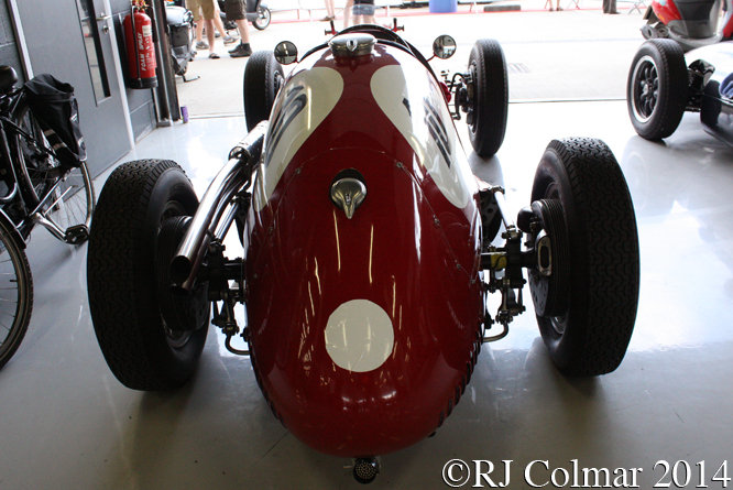 Maserati A6CGM, Silverstone Classic