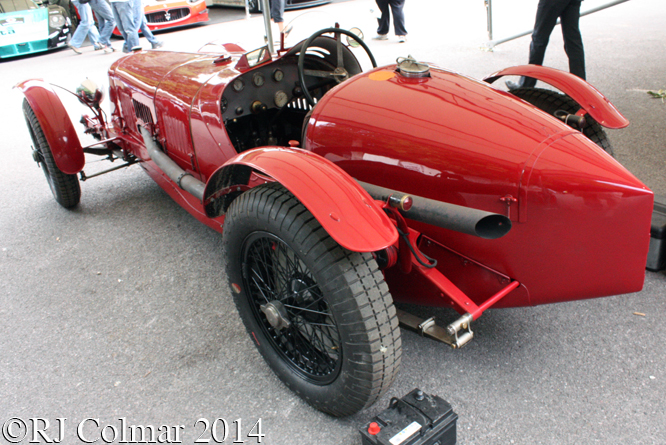 Maserati 26M, Goodwood Festival of Speed.