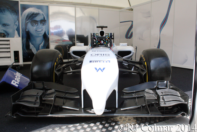 Williams Mercedes FW36, Goodwood Festival Of Speed