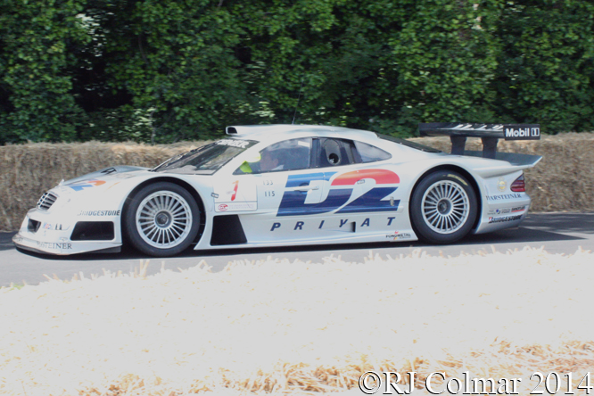 Mercedes Benz CLK GTR, Ludwig, Goodwood Festival of Speed