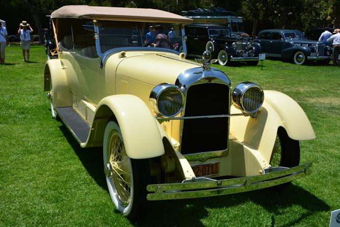 Duesenberg Model A, San Marino Motor Classic, Horton/ McNabb