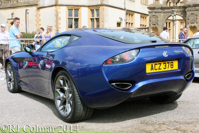 AC 378 Zagato, Classics at the Castle, Sherborne