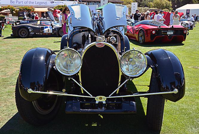Bugatti Type 54, Quail Councours d'Elegance, Geoffrey Horton.