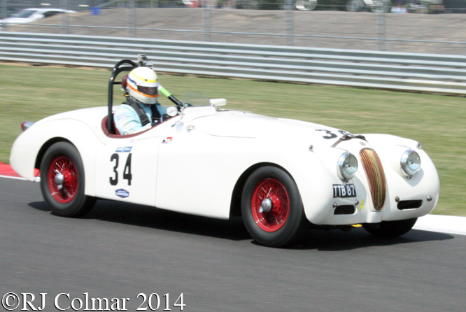 Jaguar XK120, Christopher Scholey, Stirling Moss Trophy , Silverstone Classic