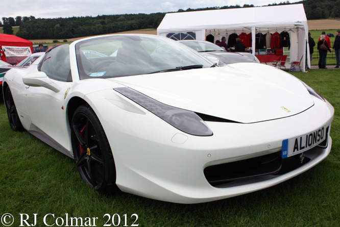 Ferrari 458 Spider, Classics at the Castle, Sherborne