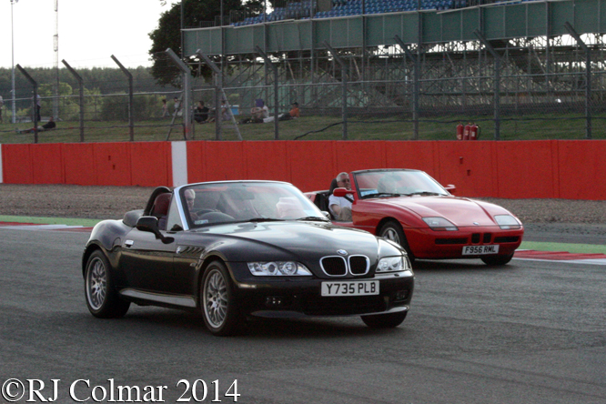 BMW Car Club, Silverstone Classic,