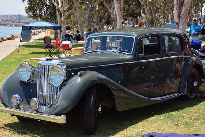 Jaguar 3 1/2 litre, SDJC, 51st, C d'E, San Diego,