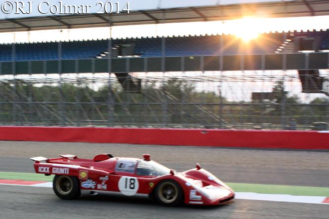 Ferrari 512M, Knapfield / Campbell Walker, Silverstone Classic