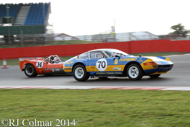 Ferrari 365 GTB/4, Tim Summers, Silverstone Classic