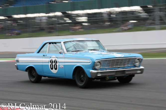 Ford Falcon, Martin Melling, Mustang Celebration Trophy, Silverstone Classic