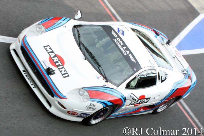 Jaguar XJ220, Justin Law, Silverstone Classic