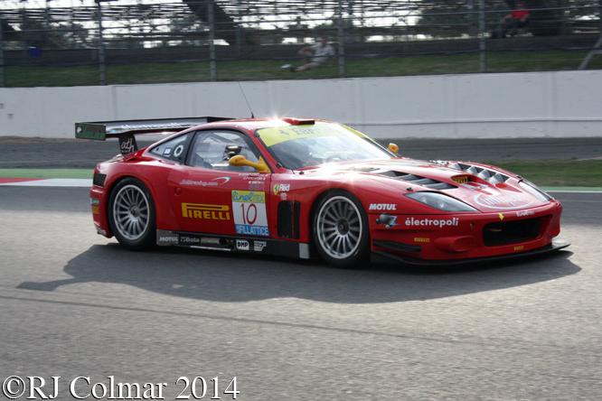 Ferrari 550 Maranello, Silverstone Classic