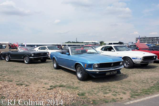Mustang Owners Club of Great Britain, Silverstone Classic