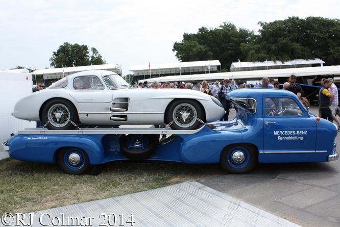 Mercedes Benz, Rennwagen Schnelltransporter, 300 SLR Uhlenhaut Coupé