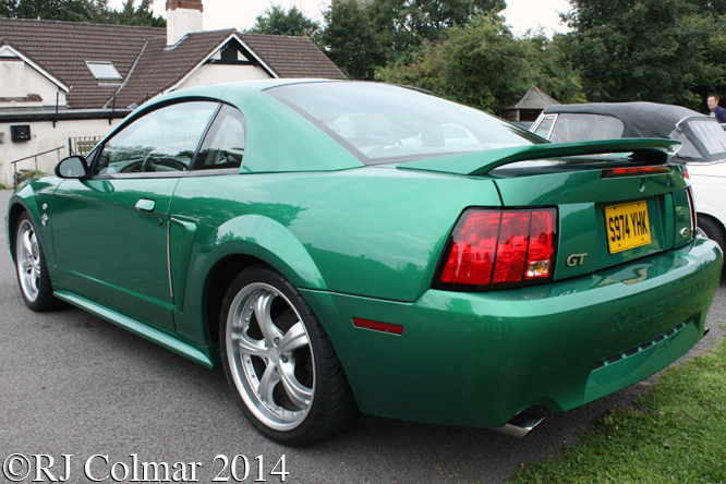 Ford Mustang GT, Redhill Village Hall,
