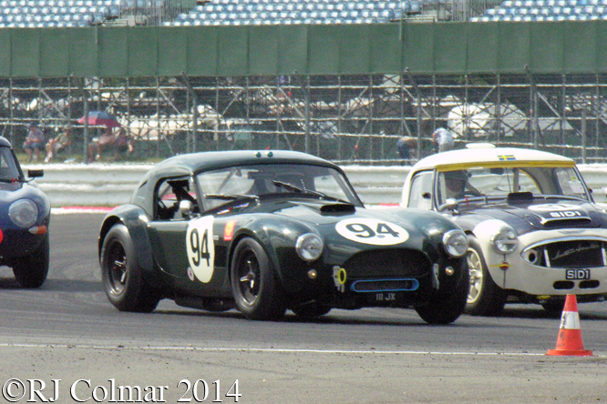 AC Cobra, Chopard International Trophy, Silverstone Classic