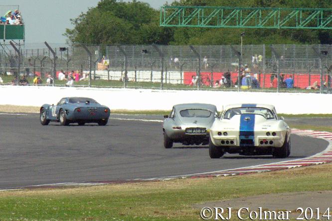 Bizzarini, Jaguar,  Corvette, Chopard International Trophy, Silverstone Classic