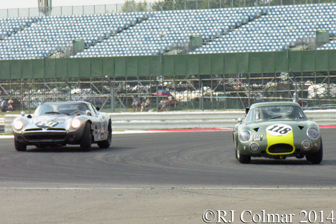 Iso, Aston Martin, Chopard International Trophy, Silverstone Classic