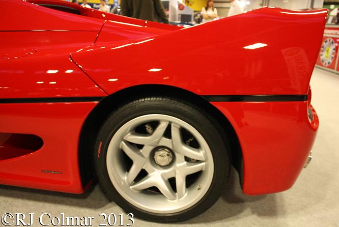 Ferrari F50, Classic Motor Show, NEC Birmingham